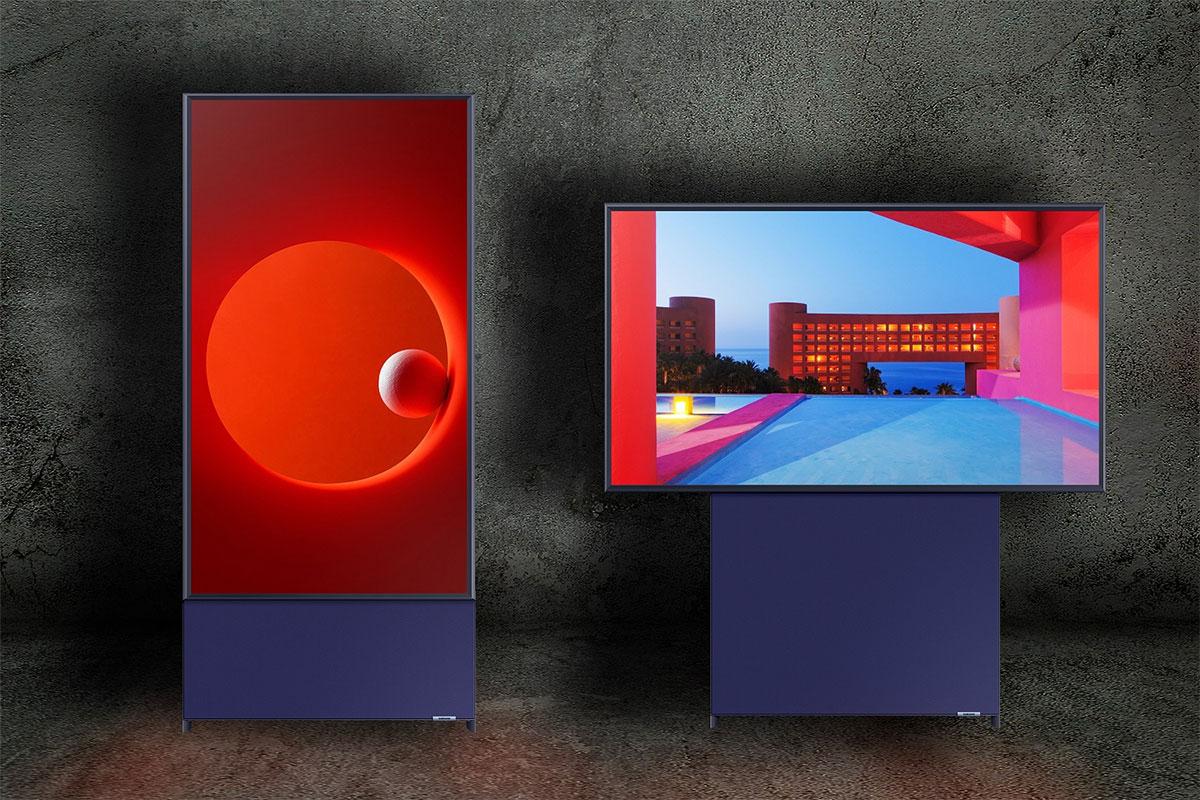 Обзор Samsung The Sero - первый телевизор с вращающимся экраном