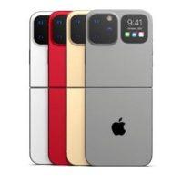 Концепт складного iPhone от Apple